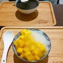 😙 Mango Sorbet and Black Sesame Paste dessert @jidechi_dessert  They have just updated their menu with some new items.