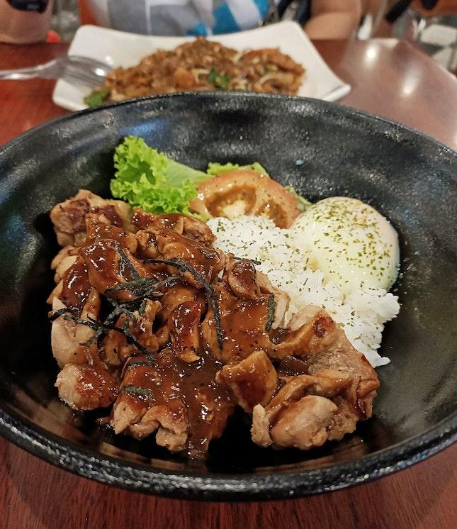 Chicken Chop Rice Bowl $6.90