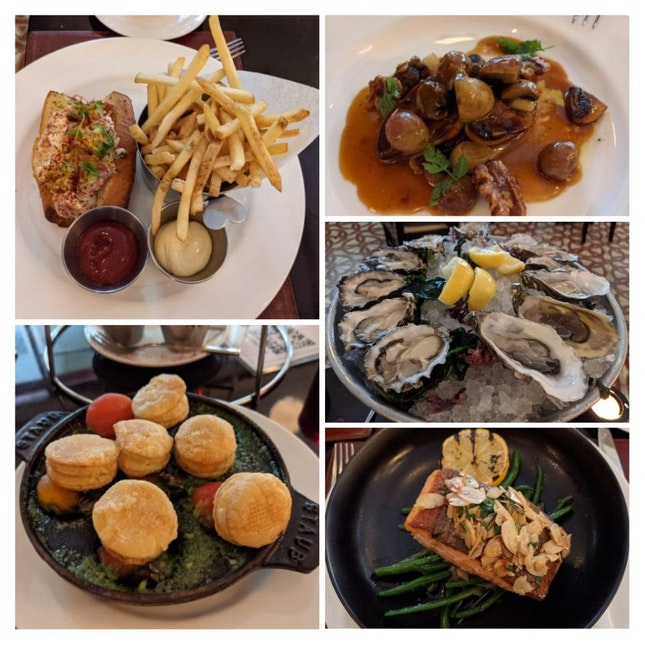 Oysters, Burgundy Escargots & More!