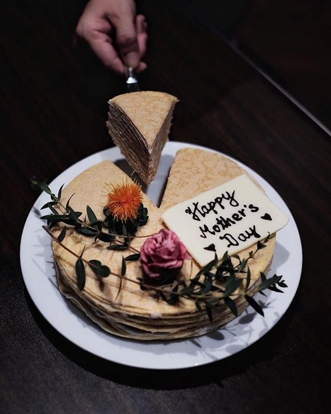 Teochew Orh-Ni Cake Crepe ( $88++, 1.3 kg ) .