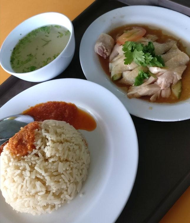TFF Boneless Chicken Rice (3.50sgd)