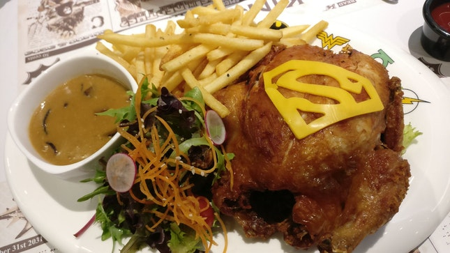 Smallville Special Roasted Chicken (38.90sgd)