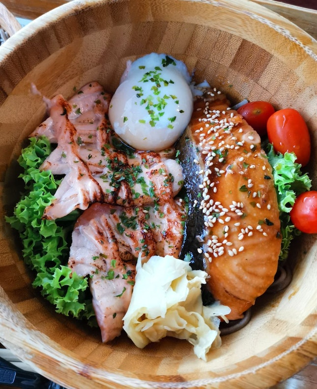 Cooked Salmon Bowl