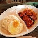 Marmite Pork Rice (5.50sgd)