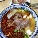 Mala Beef Noodles (9.50sgd)