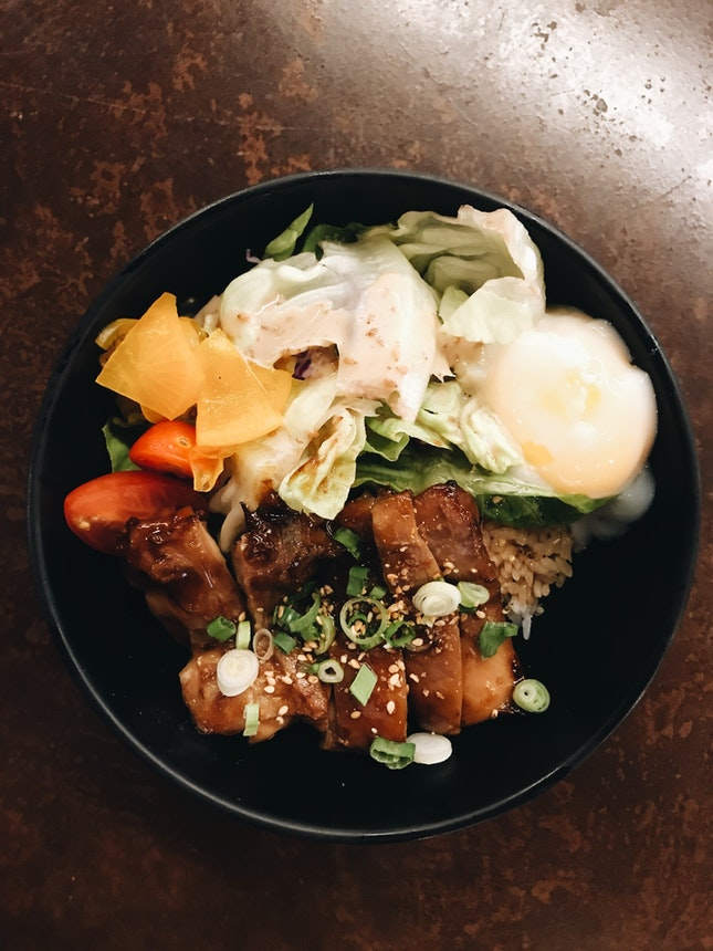 Chicken Teriyaki Don ($8.80)