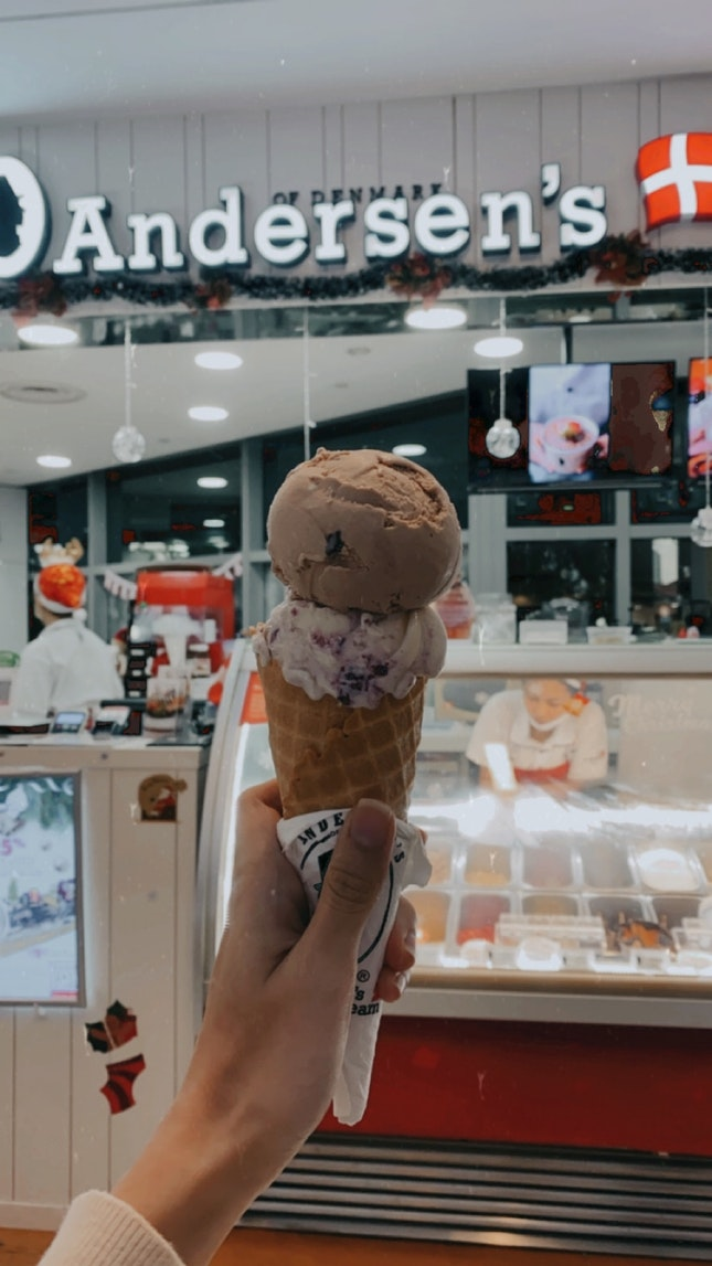 Double Scoop With Cone