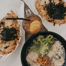 Kimchi Baked Rice & Mee Hoon Kueh