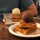Love the eggy waffle!