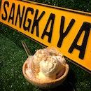 Thai Coconut IceCream dessert 😍😋 #oripicnofilter