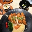 Moist, crisp chicken katsu