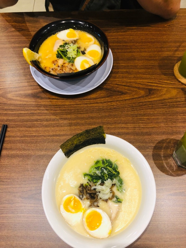 Toripaitan Shio Egg Chicken Ramen