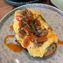 Crabmeat Scrambled Egg