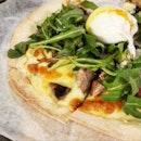 Truffle Mushroom Pizza