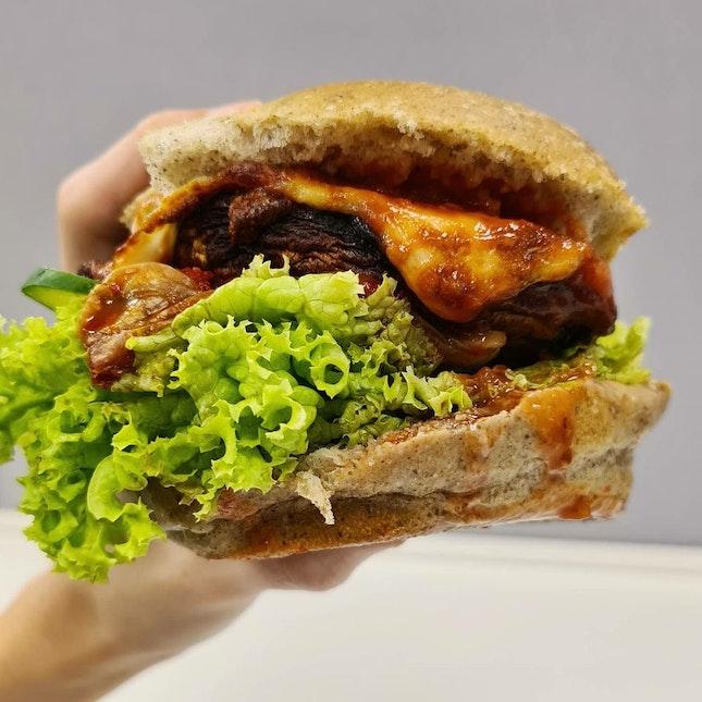 Truffle Portocardo Burger