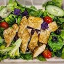 Tofu Tempeh Salad!!