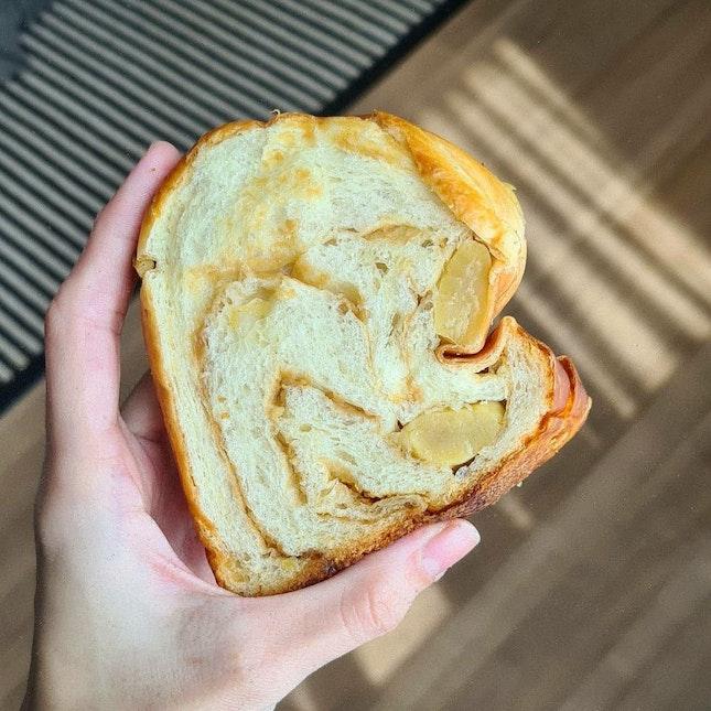 Caramel & Chestnut Bread