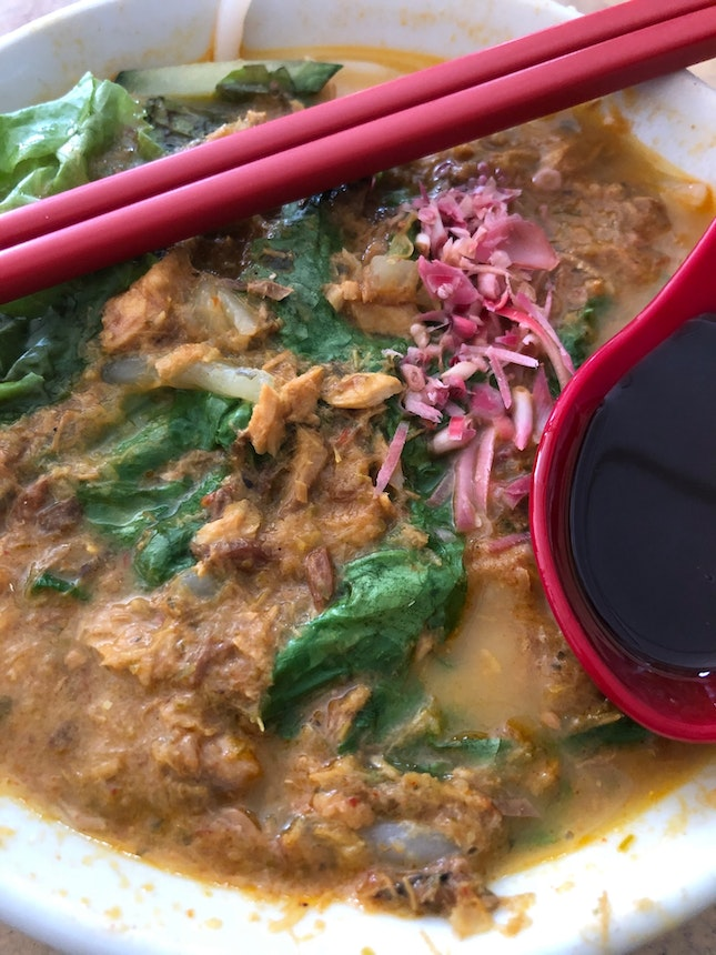 Siam laksa is a must try