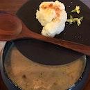 Set lunch - Cauliflower soup