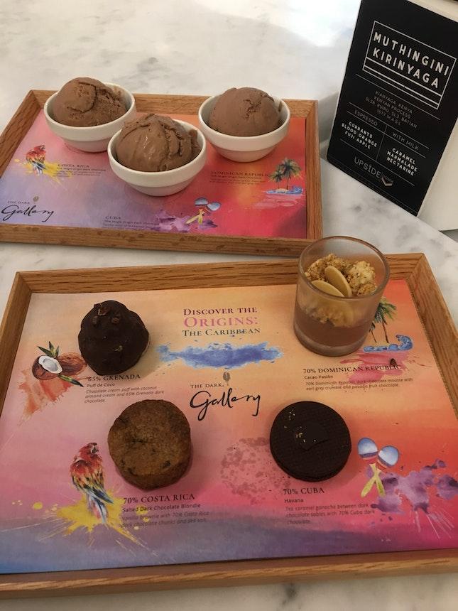 Chocolate Tasting Platter ($14)
