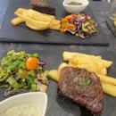 Good Steak And Unique Dips