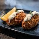 Crabmeat Croquette [$9]