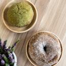 Earl Grey & Matcha Donuts [$2.60+ each]