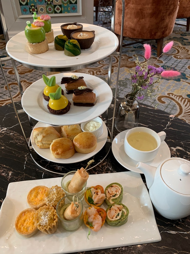 Afternoon Tea At Lobby Lounge Intercontinental Singapore