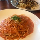 panna pomodoro spaghetti