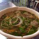 crab & prawn noodle soup
