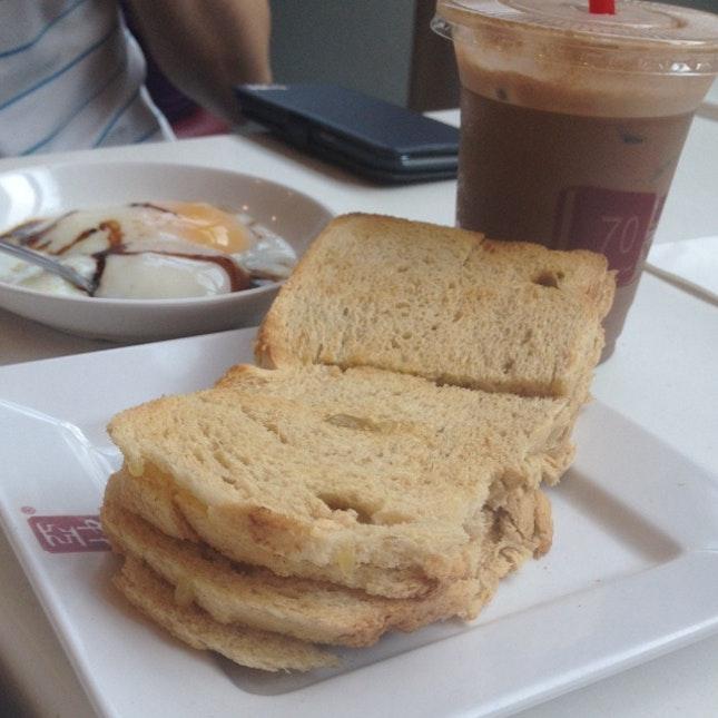 The Best Kaya Toast