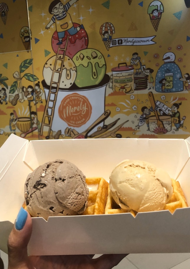 Merely Ice cream @ OTH