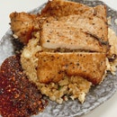 Mala Pork Chop Fried Rice ($7)