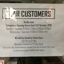 Opening Hours Not Updated