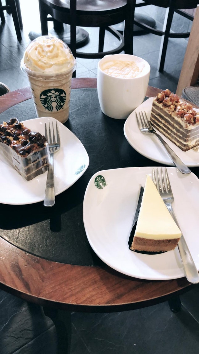 Starbucks Afternoon Tea