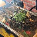 Mushroom Herb Grilled Fish