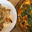 Aglio Olio & Truffle Mushroom Pizza