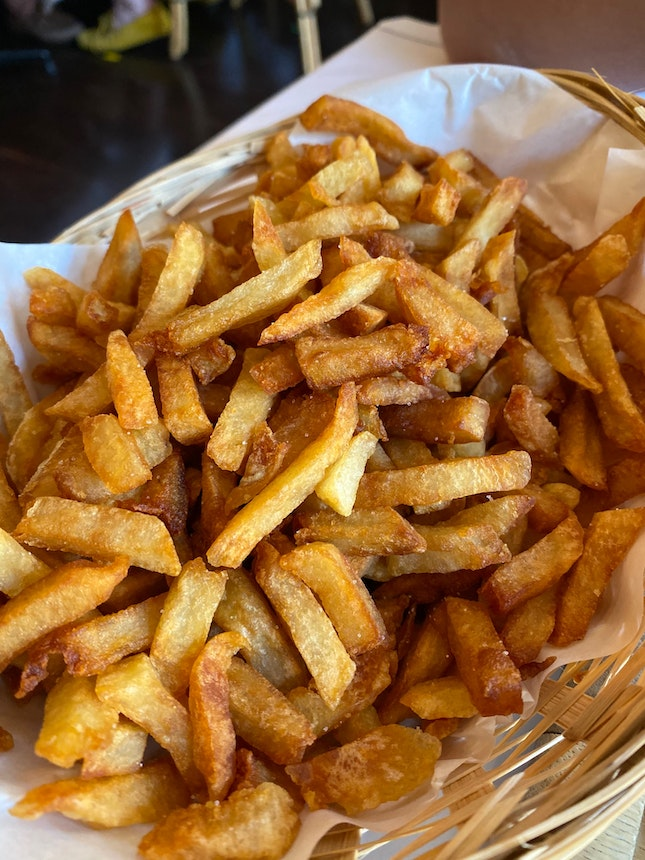 Glorious Duck Fat Fries