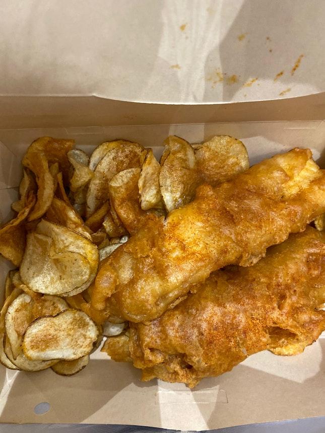 Haddock & Crisps ($16.80)