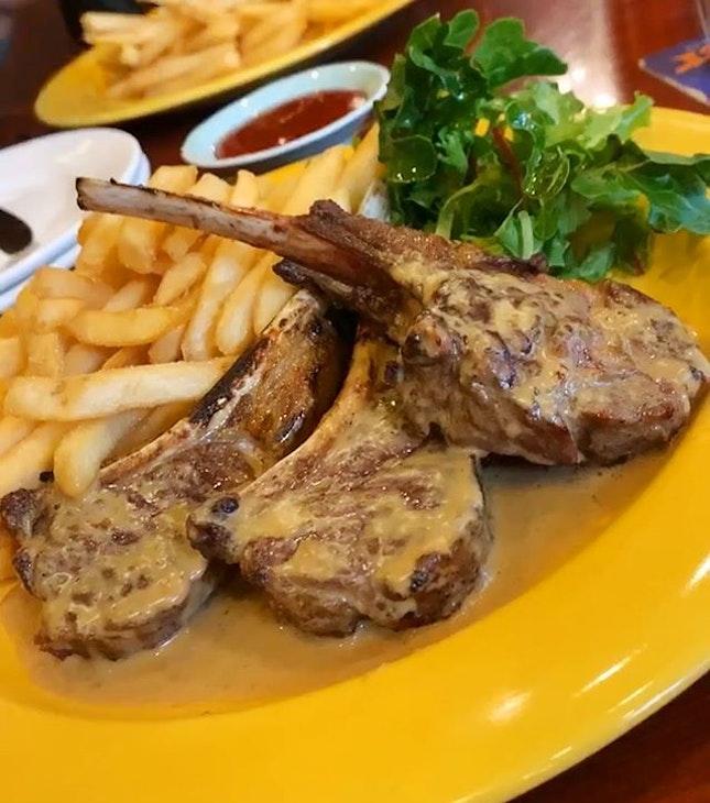 Australian Lamb Chops ($42)