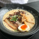 I really like that Menya Sanji has options for a mini ramen, a drink and a small bowl which can be mini roast pork don, fried chicken or the day's special!