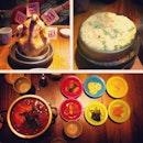 Late Dinner V gang ~~ @v_bobo @mm_lsm @eugeniechua @robbie_goh  #instafood #instamalaysia #korean #food #gangnam #88 #sidedise #nice #yummy #instadaily