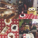 #vscocam #vsco #vscophile #vscofeature #bff #love #birthday #teatime #coffee #cakes #dessert #pastry #bakery #minion 🍰🍰🍰Advance birthday celebration for our tiniest girl in da gang 🍰🍰🍰