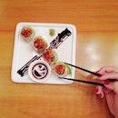 27/8 🍣 Avocado Salmon Roll = My Love