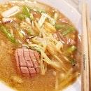 Yew Ji Pig's Kidney) Mee Sua, $7.50