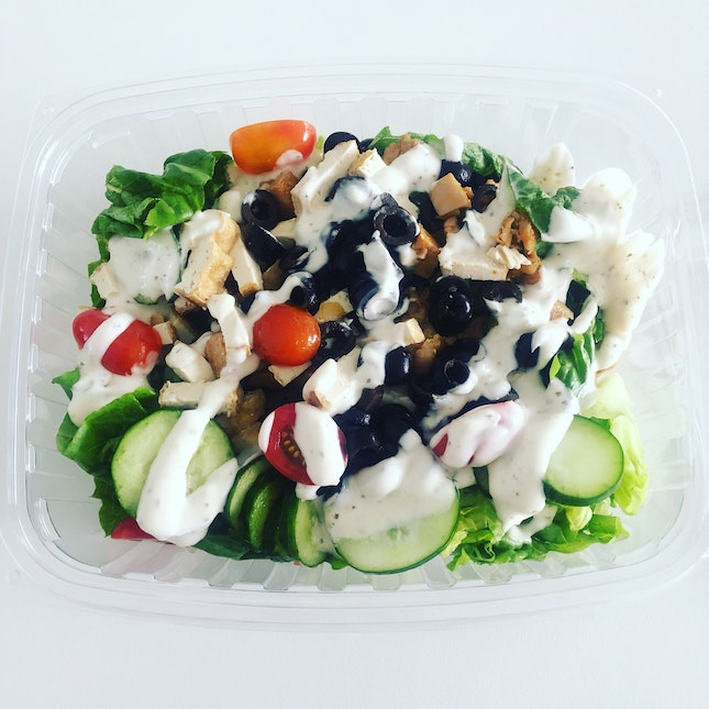 Salad With 4 Toppings