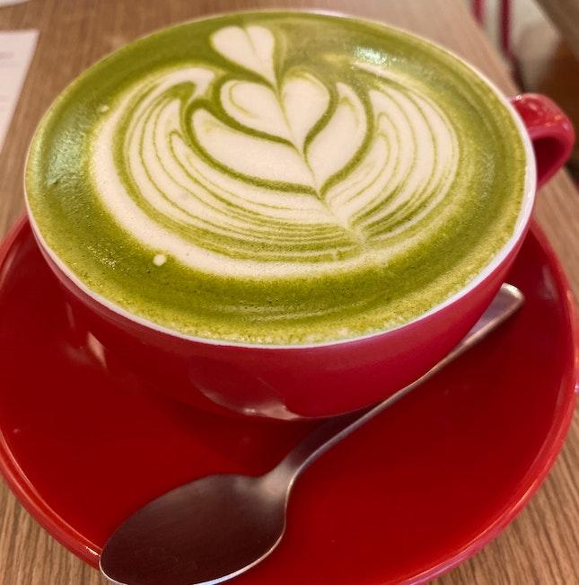 Matcha latte 😋