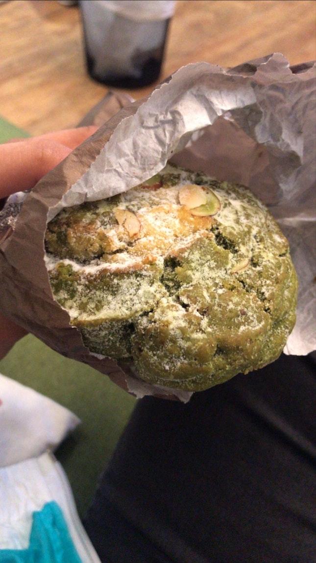 green tea scone