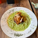 Chicken Pesto Pasta ($16)