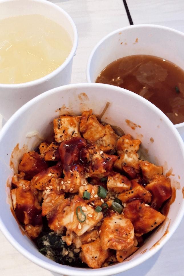 Spicy Chicken Bimbimbap 🤪